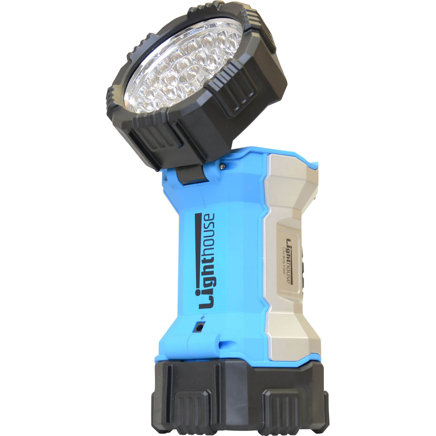 Lighthouse Bolt 3w CREE LED Rechargeable Flip Top Torch with Integral Lithium Ion Battery