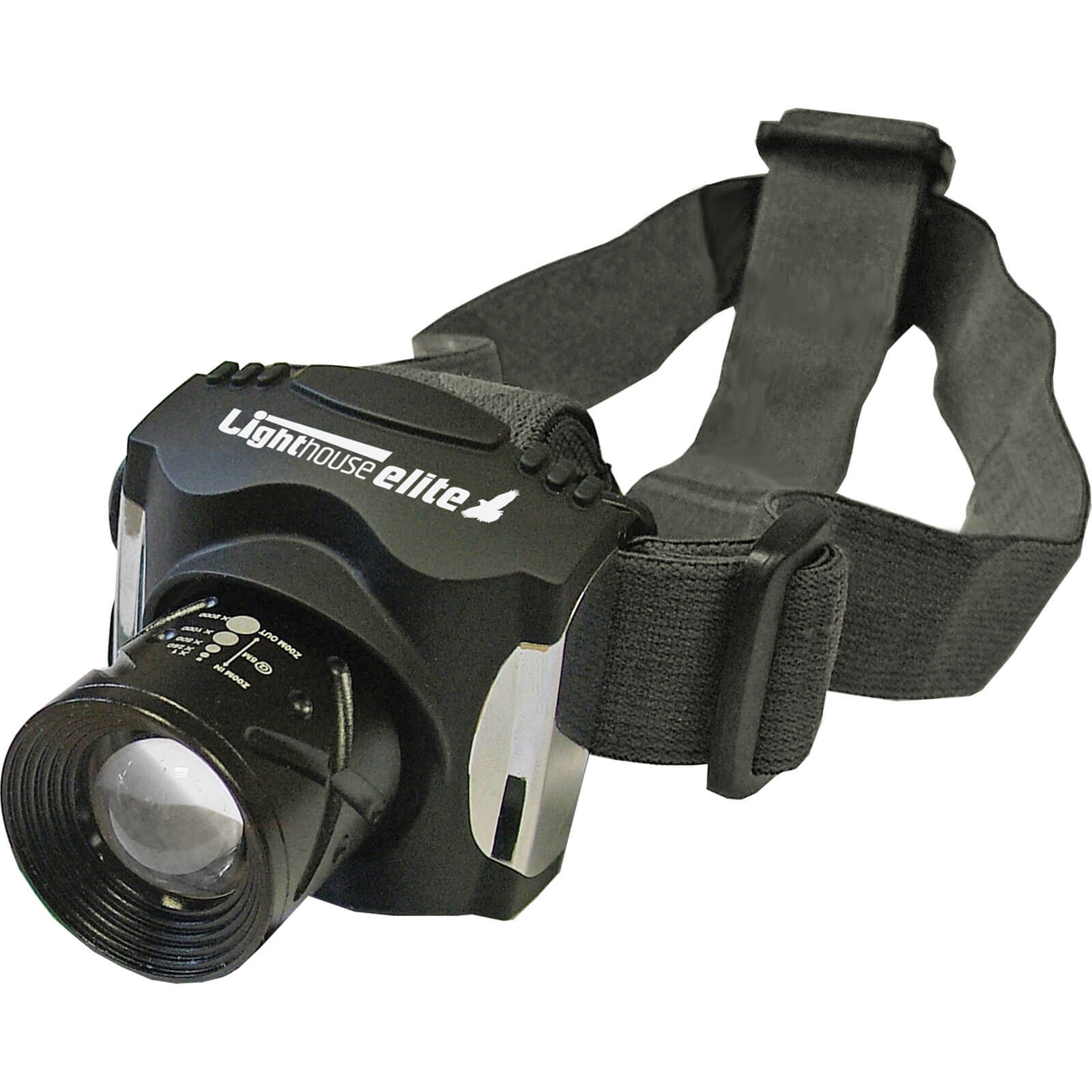 Lighthouse Elite Focus LED Rechargeable Head Torch 140 Lumens