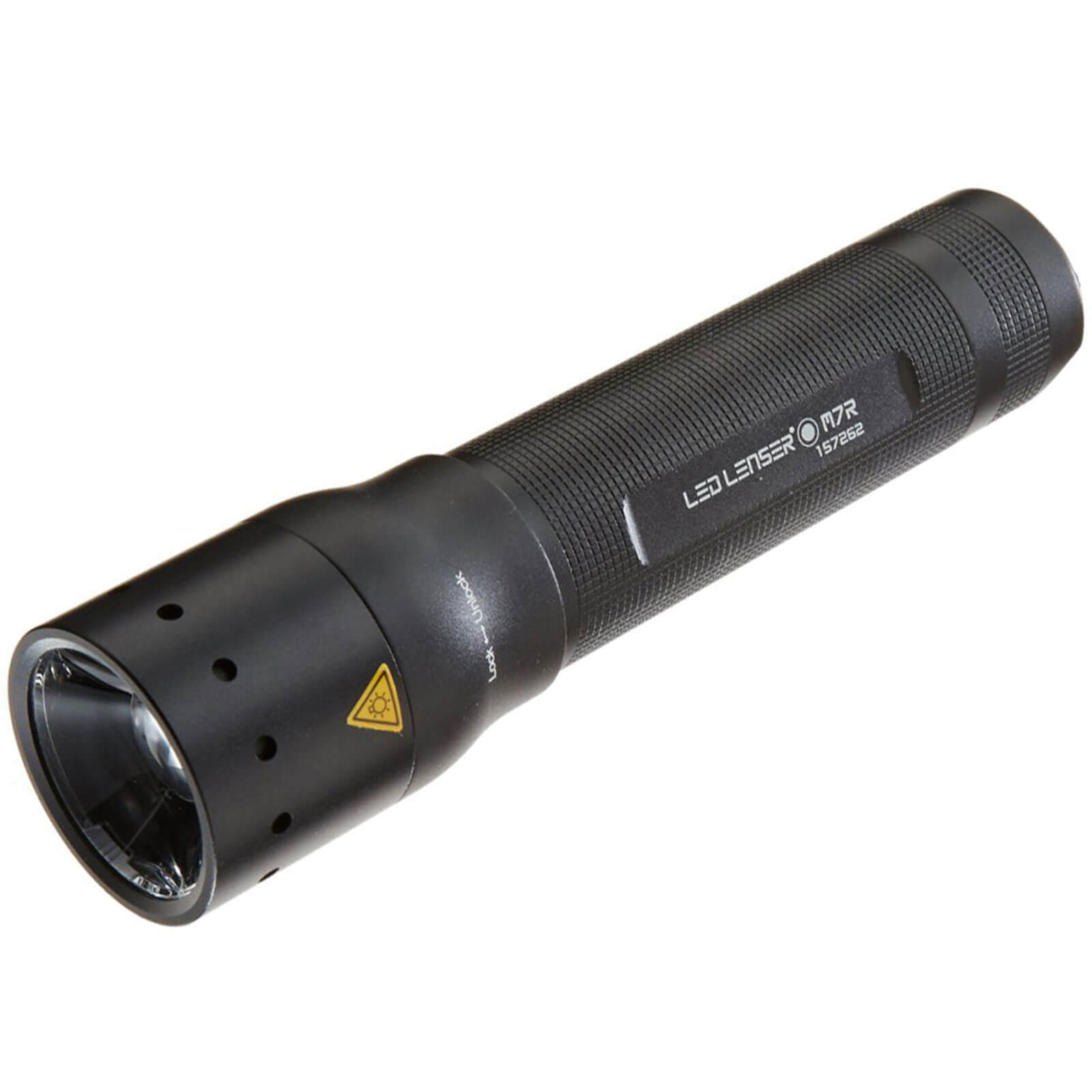 LED Lenser M7R Professional Rechargeable Focusing Torch Black in Case 220 Lumens