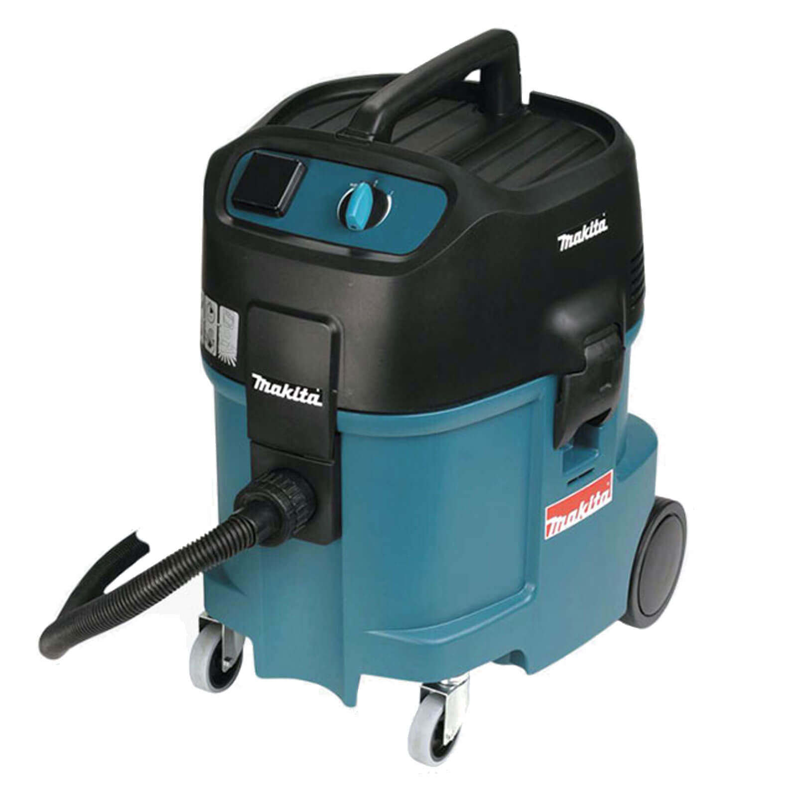 Image of Makita 447L Wet & Dry Dust Extractor with Power Tool Socket 1750w 45L 110v