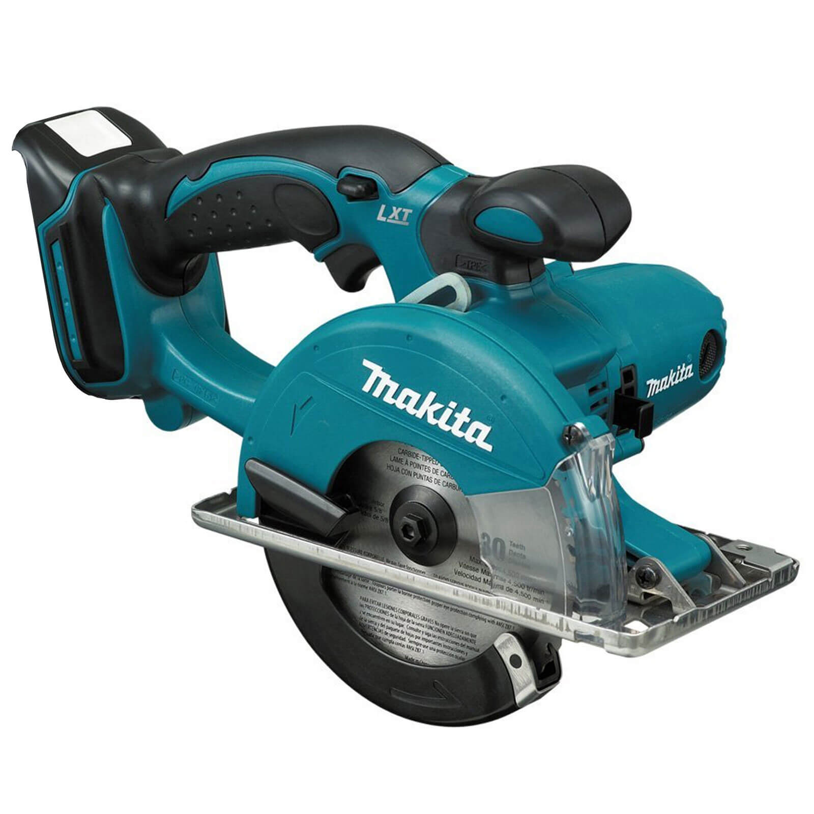 Image of Makita BCS550Z LXT 18v Cordless Metal Cutting Saw 136mm Blade without Battery Or Charger