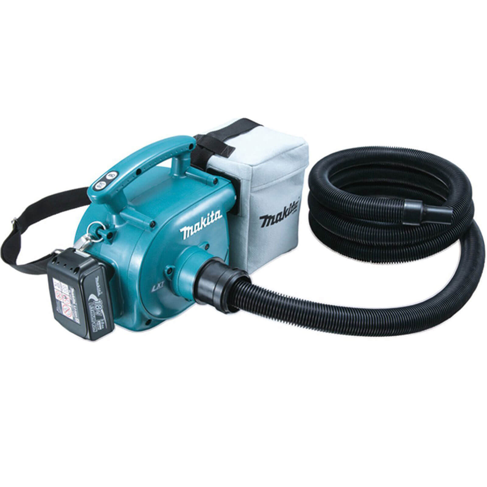 Image of Makita BVC350Z 18V Li-ion Cordless Vacuum Cleaner without Battery Or Charger