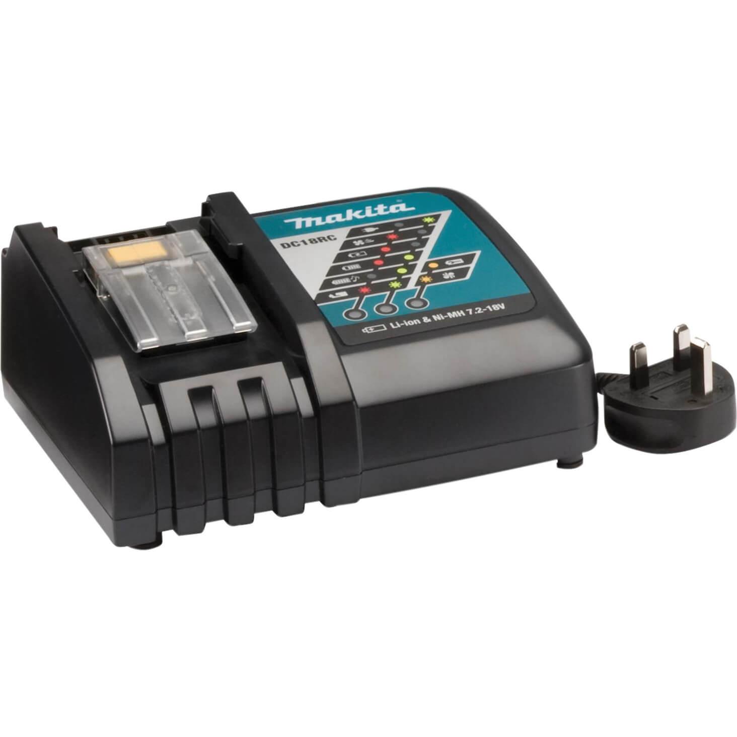 Makita Cordless Battery Charger For 7.2 - 18v