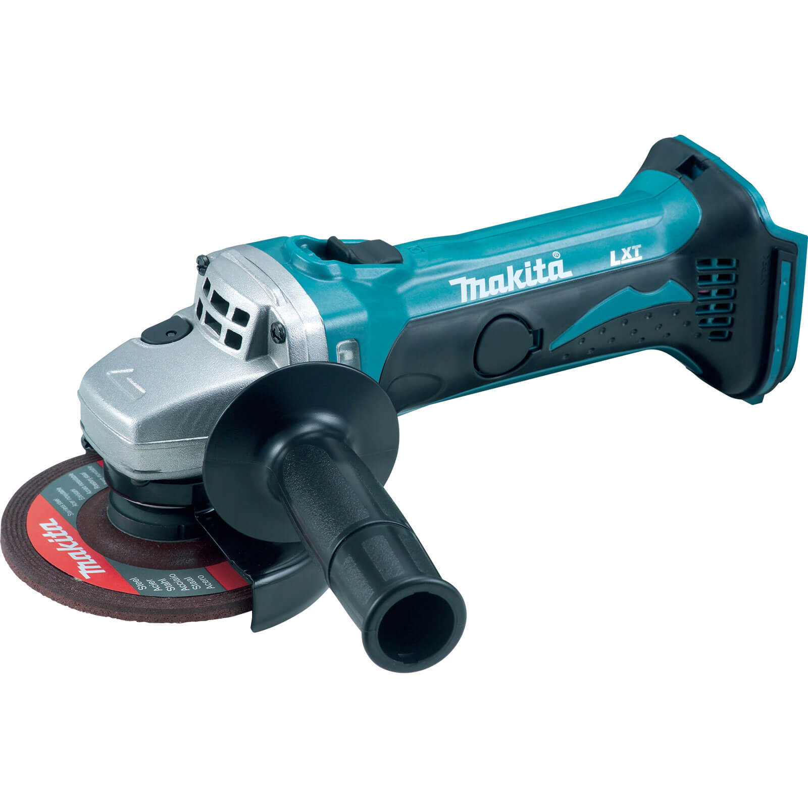 """Makita DGA452Z LXT 18v Cordless Angle Grinder 115mm / 4.5"""" Disc without Battery or Charger"""