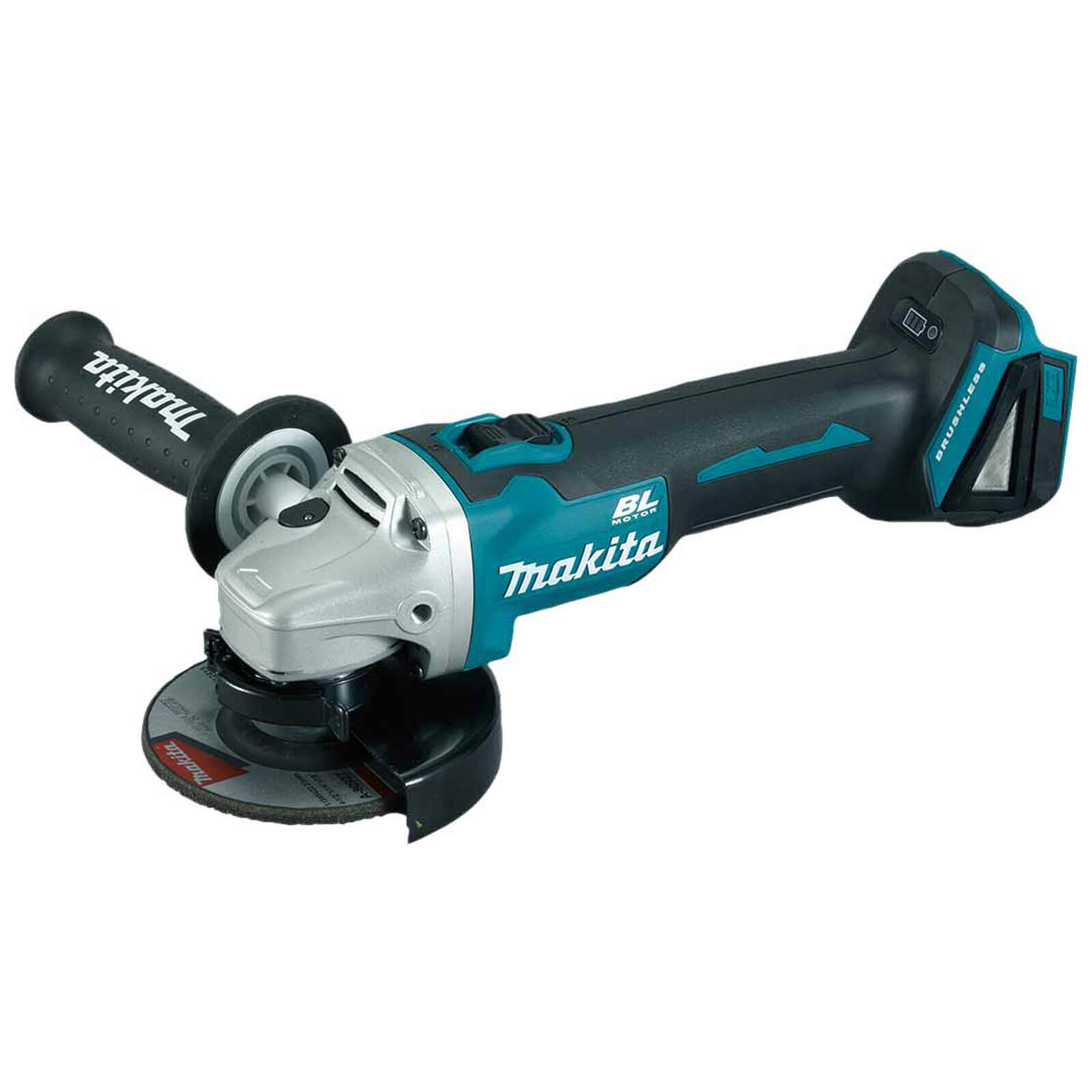 """Makita DGA454Z 18v Cordless Angle Grinder 115mm / 4.5"""" Disc without Battery or Charger"""
