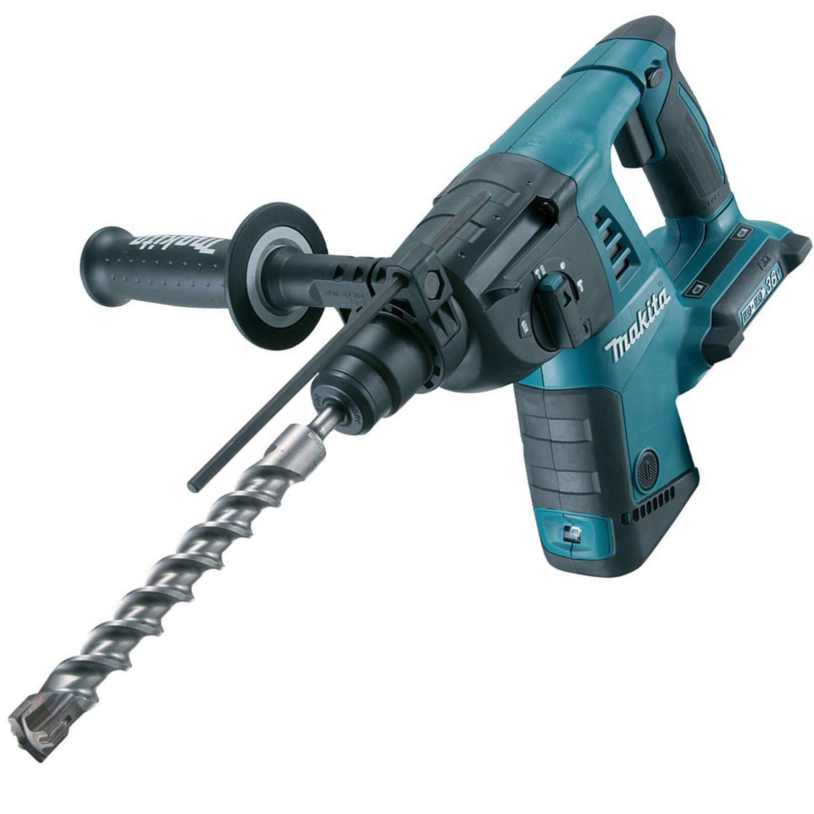 Image of Makita DHR263Z Twin 18v Cordless SDS Plus Rotary Hammer Drill without Battery or Charger