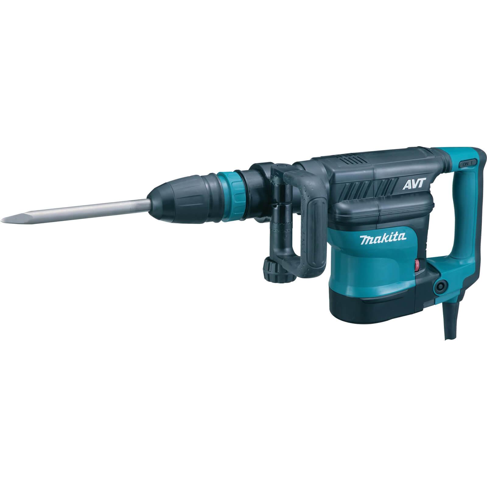 Image of Makita HM1111C AVT SDS Max Demolition Hammer Drill 1500w 110v