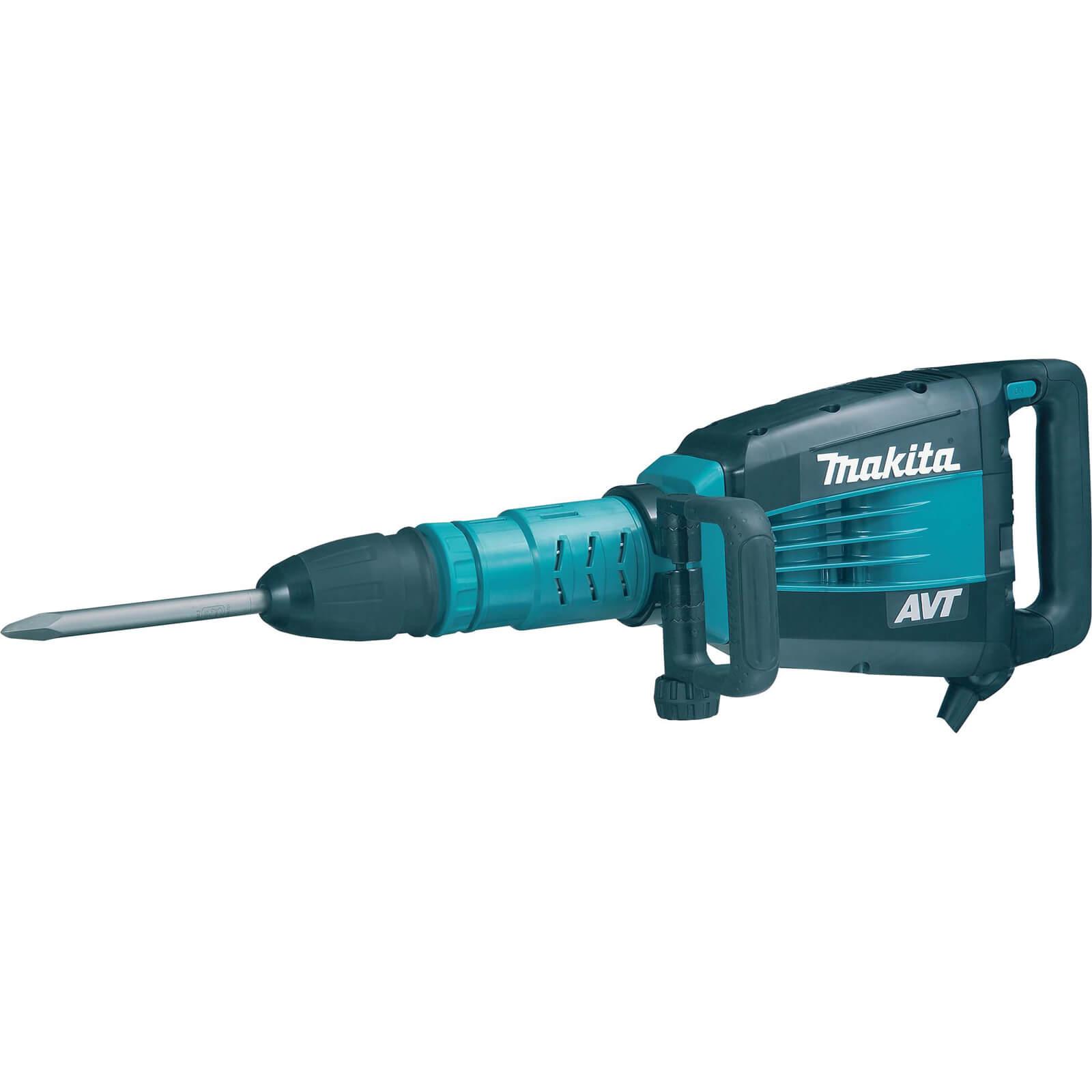 Image of Makita HM1214C SDS Max Demolition Hammer Drill 1500w 110v