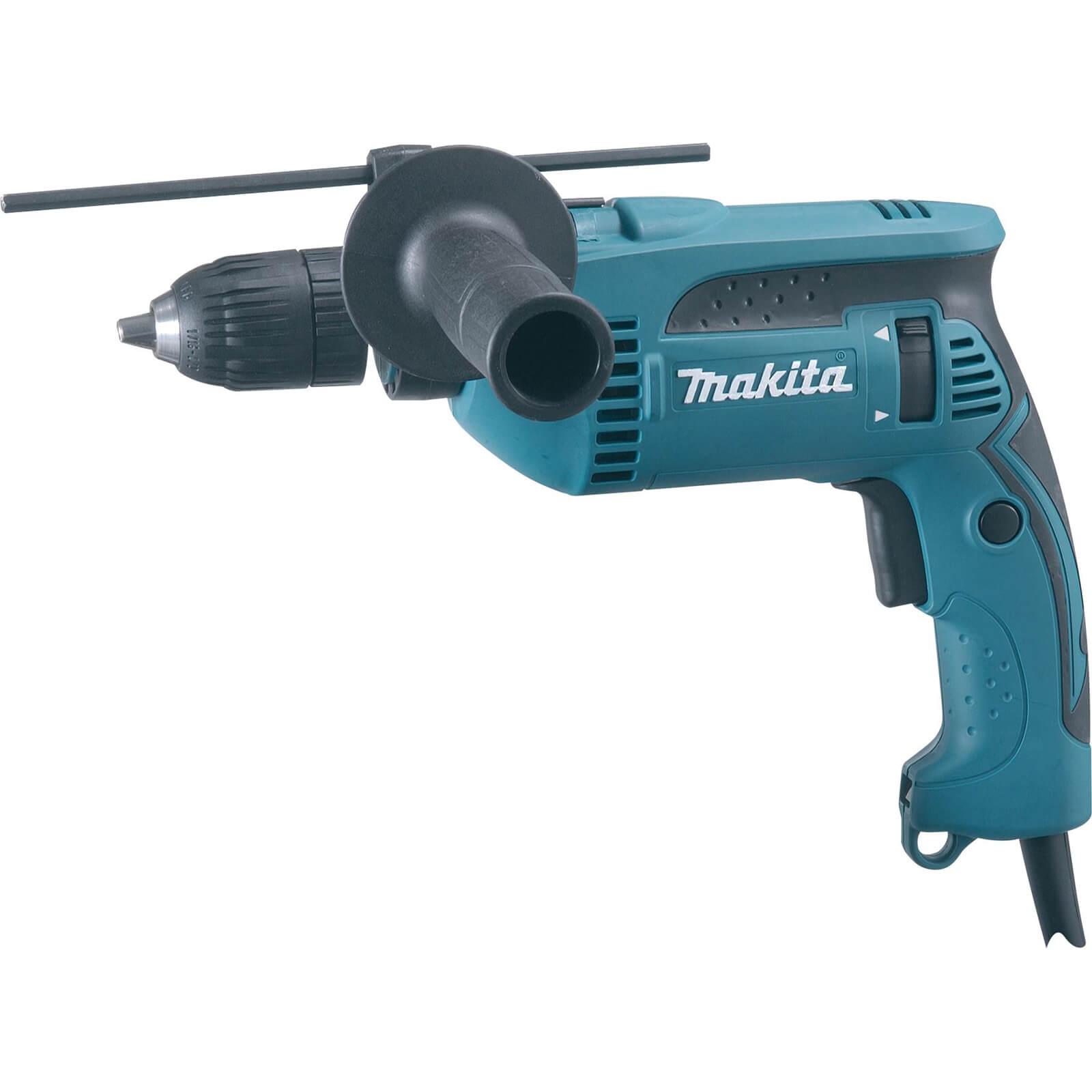 Makita HP1641 Percussion Drill 13mm Keyless Chuck 680w 240v