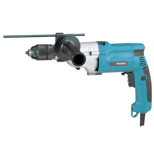 Makita HP2051 Percussion Drill with Variable Speed + 13mm Keyless Chuck 720w 240v