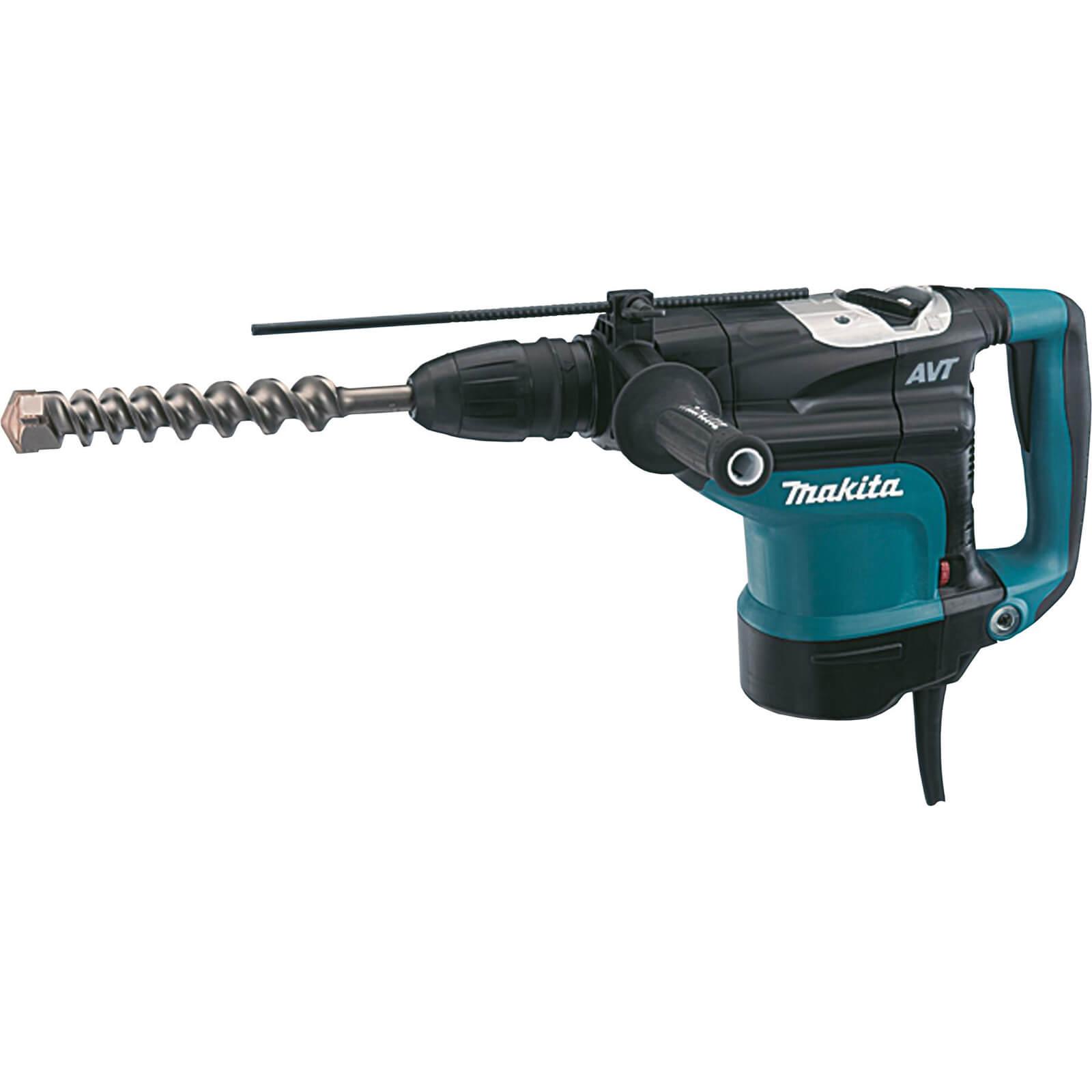 Makita HR4511C SDS Max AVT Rotary Demolition Hammer Drill 1350w 240v