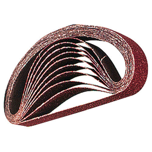 Makita Abrasive Belt 30mm x 533mm Grit 60 Pack of 5 Belts