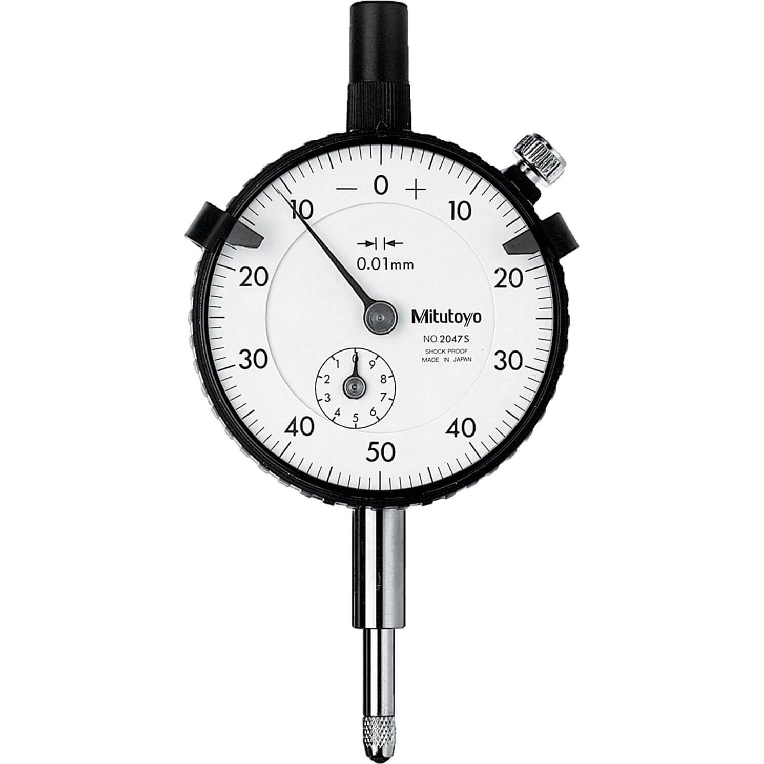 Mitutoyo 2047S Dial Indicator 0.01mm Grad