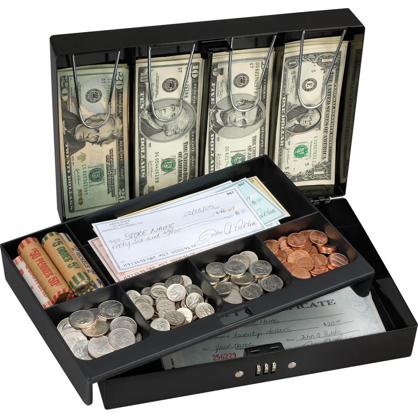 Masterlock Cash Box with Combination Lock