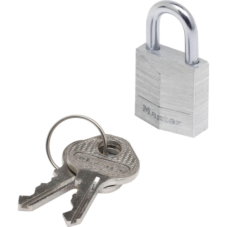 Tooled Up/Ironmongery & Security/Security/Masterlock 20mm Aluminium Padlock