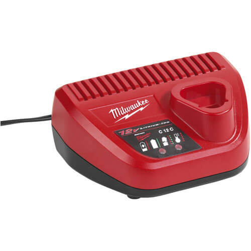 Milwaukee C12C 12v Battery Charger for M12 Cordless Power Tools