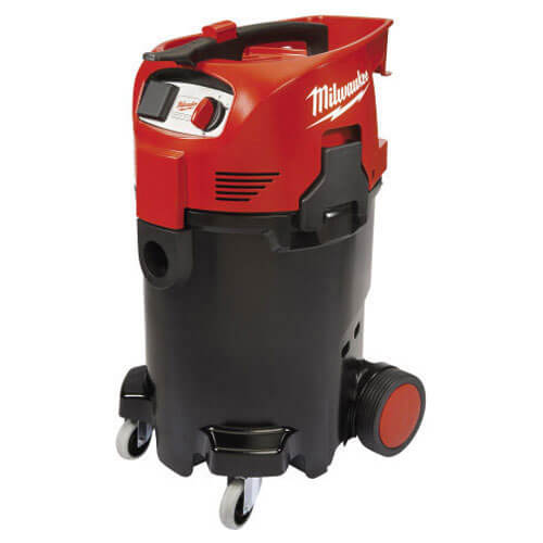 Image of Milwaukee AS500ELCP Clear Press Dust Extractor 50L Tank 1500w 110v