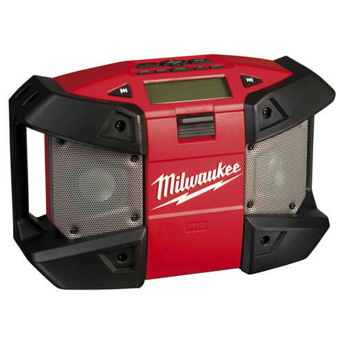 Milwaukee C12 JSR0 12v Cordless Compact Jobsite Radio without Battery or Charger