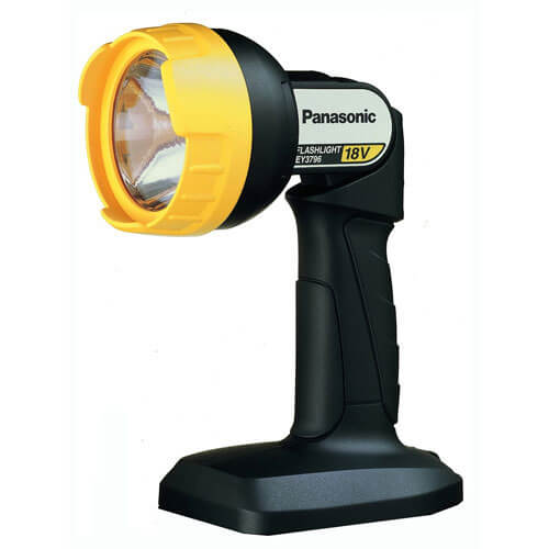 Image of Panasonic EY3796B10 18v Cordless Torch without Battery or Charger