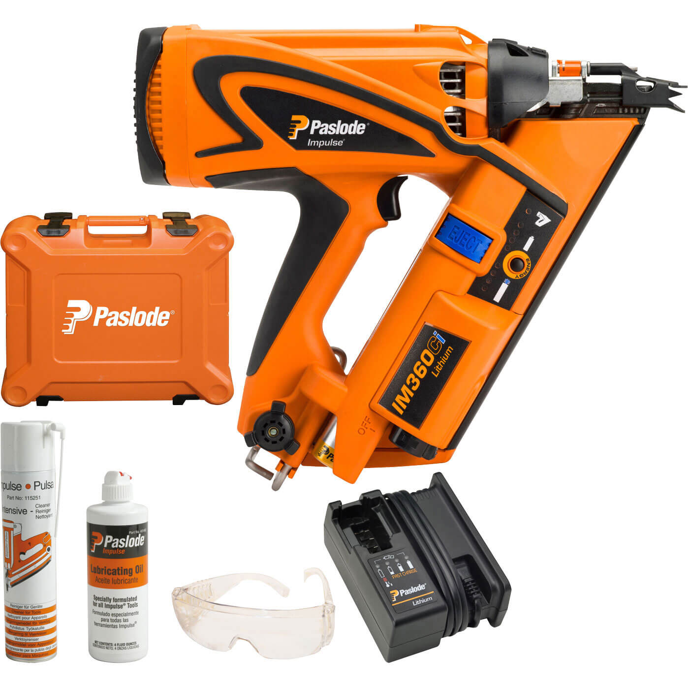 Paslode Framing Gun Battery: Paslode Impulse IM360Ci Cordless Gas Framing Nail Gun 51