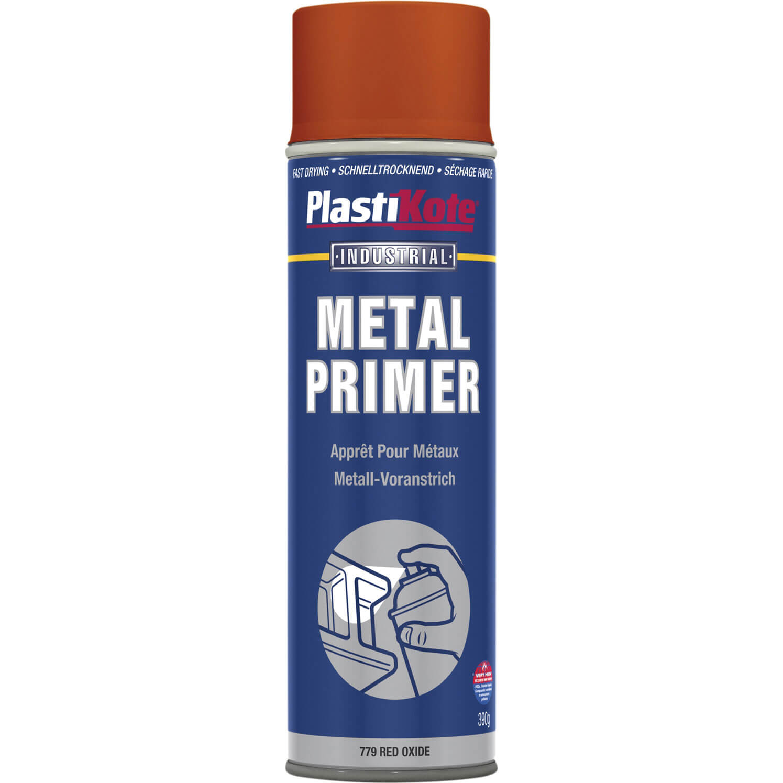 metal primer aerosol spray paint red 400ml plasti kote metal. Black Bedroom Furniture Sets. Home Design Ideas