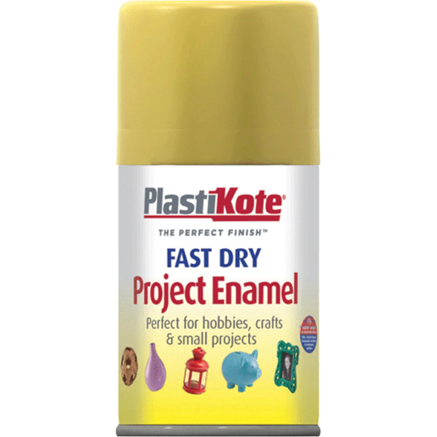 Plastikote 110S Dry Enamel Paint Gold Leaf Aerosol 100ml