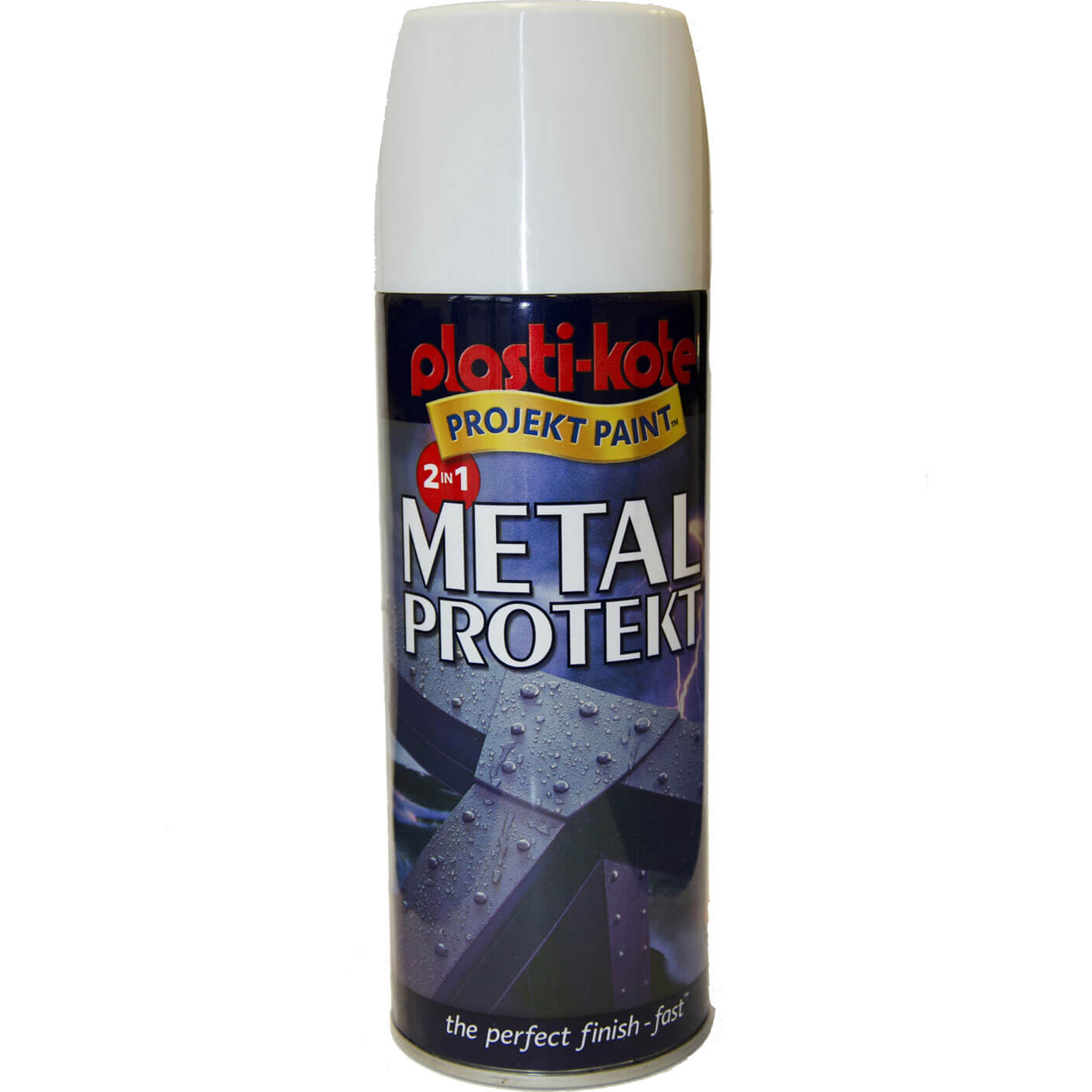 Plastikote Metal Protekt Aerosol Spray Paint Brown 400ml