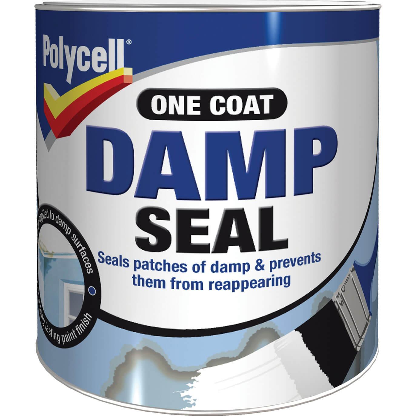 polycell damp seal 1 litre buybypost uk. Black Bedroom Furniture Sets. Home Design Ideas