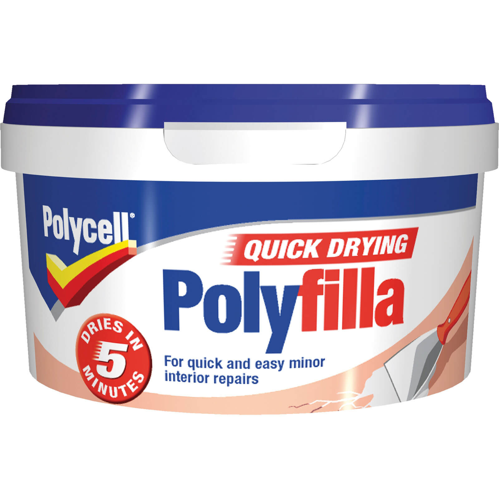 Polycell Multi Purpose Quick Drying Polyfilla Tube 500g