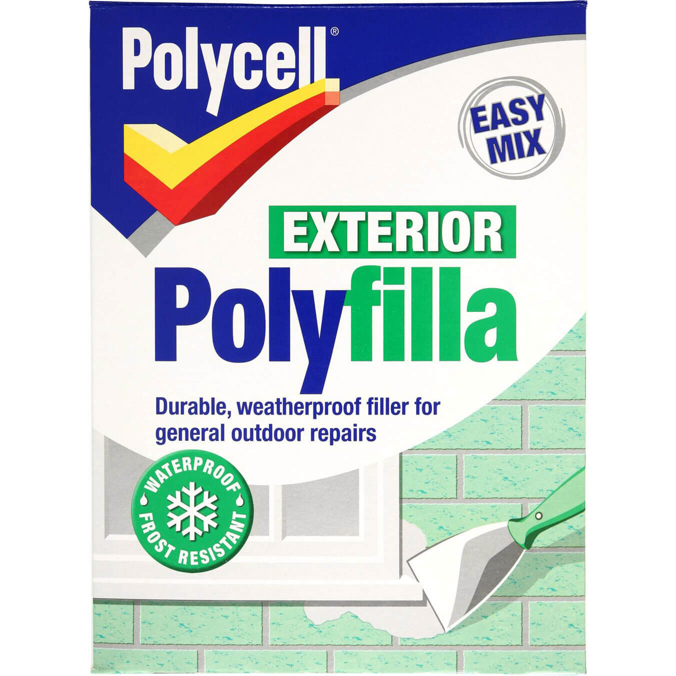 Polycell Weatherproof Polyfilla 1.75kg