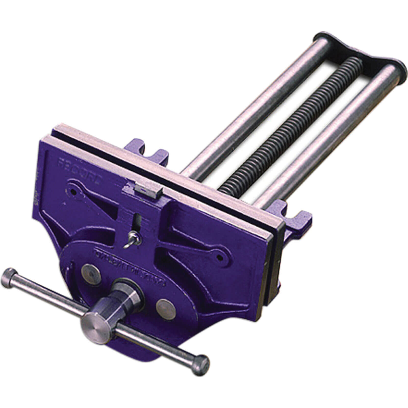 Irwin Record T52-1/2ED Professional Quick Release Plain Screw Woodworking Vice with Front Dog 9