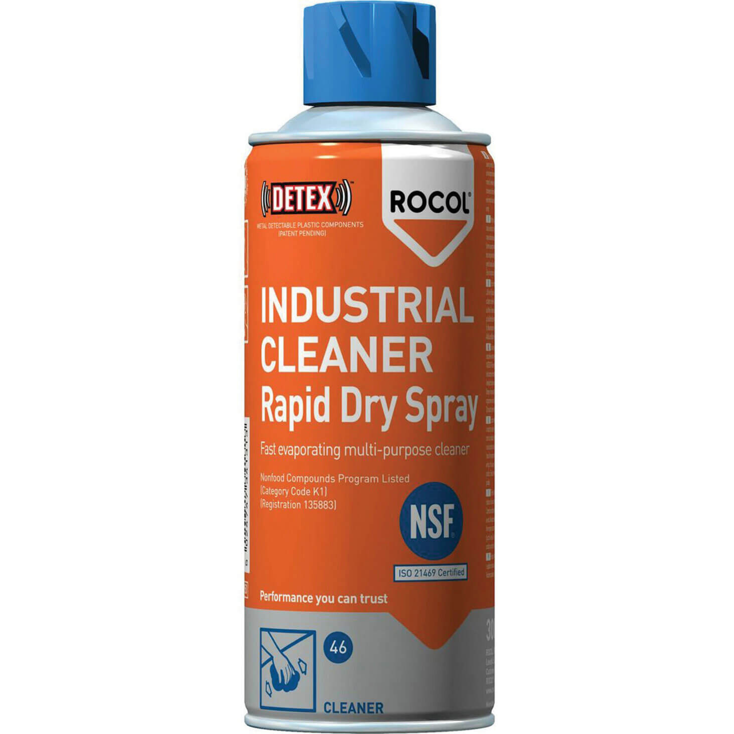 Image of Rocol 34131 Ind Cleaner Rapid Dry Spray 300Ml