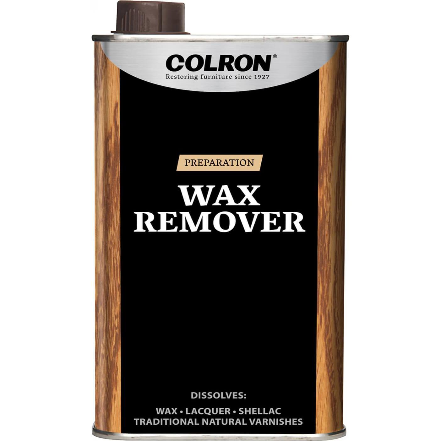 Ronseal colron wood dye geo medium oak 500ml for Wood floor wax remover