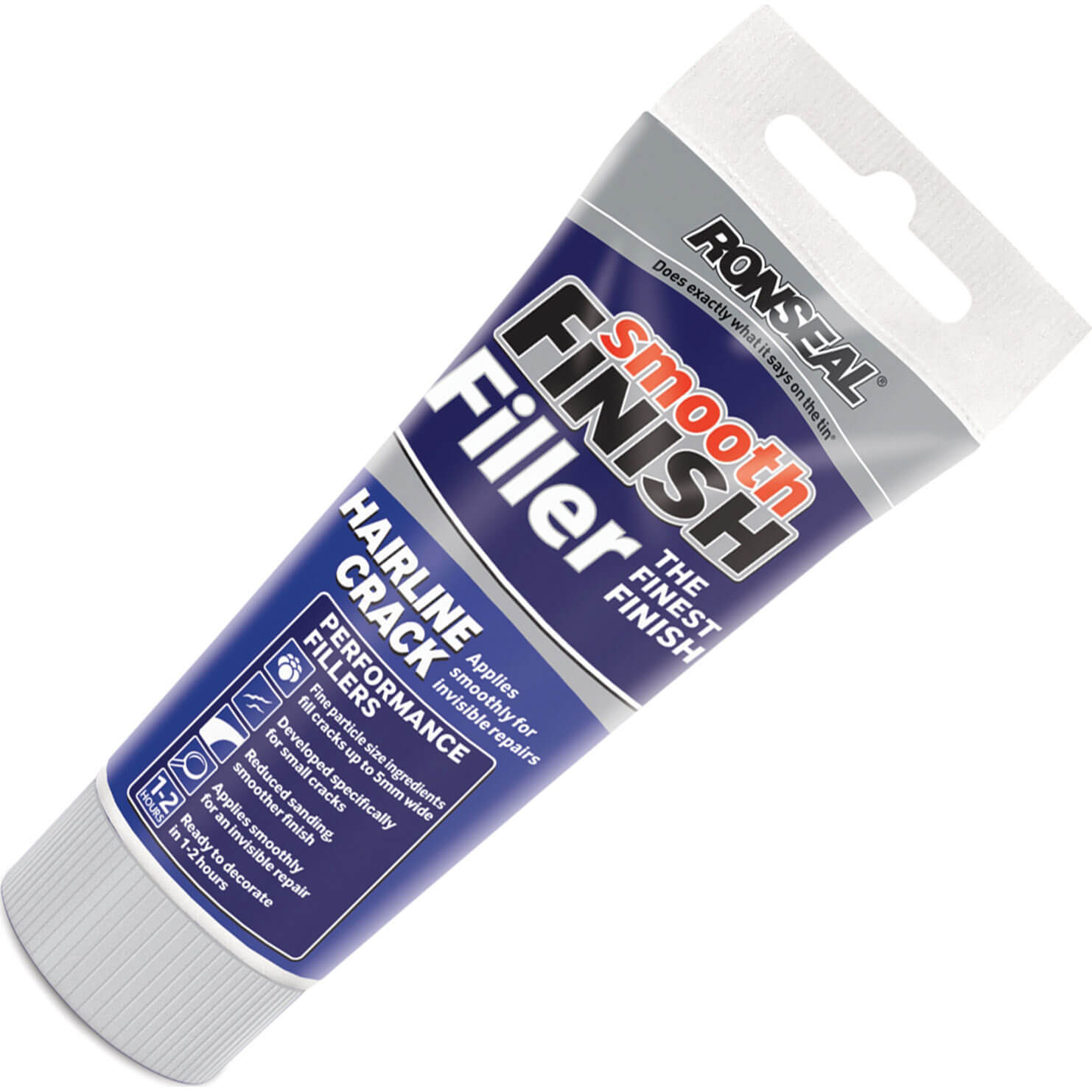 Tooled Up/Sealants & Adhesives/Fillers/Ronseal Smooth Finish Hairline Crack Filler 100g