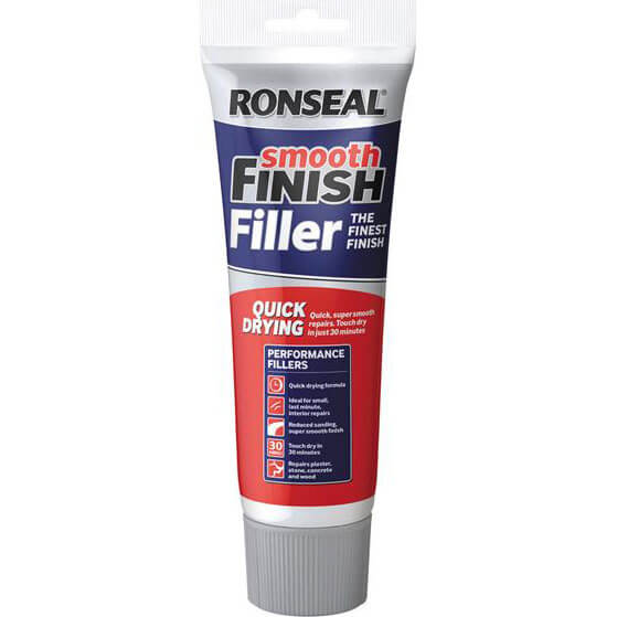 Tooled Up/Sealants & Adhesives/Fillers/Ronseal Smooth Finish Quick Drying Multi Purpose Filler 33g