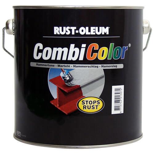Rust Oleum 7332 CombiColor Hammertone Light Green Metal Paint 750ml