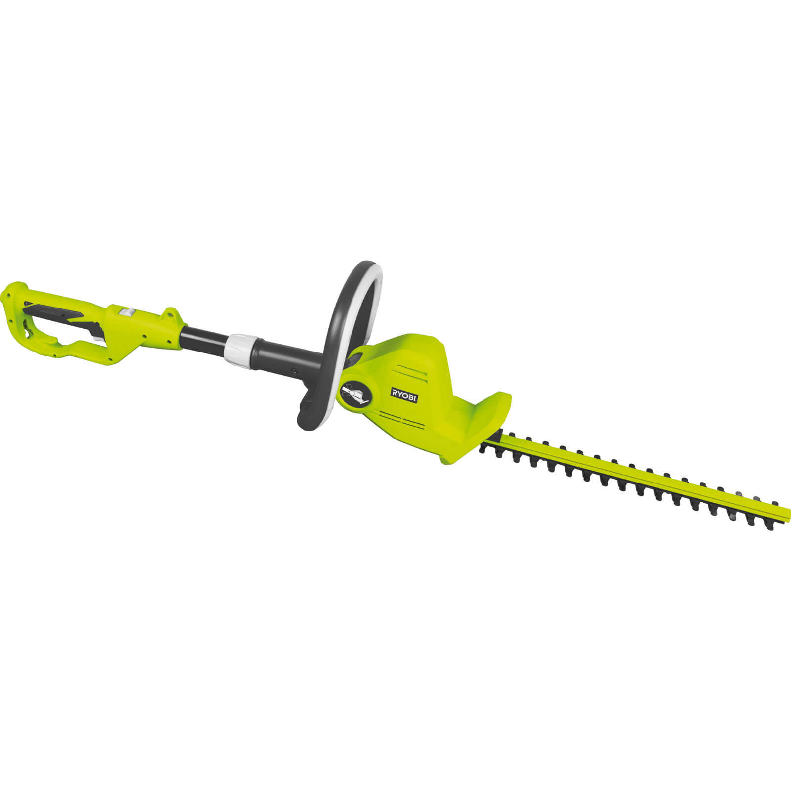 Ryobi RHT450X Electric Pivot Head Long Reach Hedge Trimmer 450mm Blade Length 450w 240v