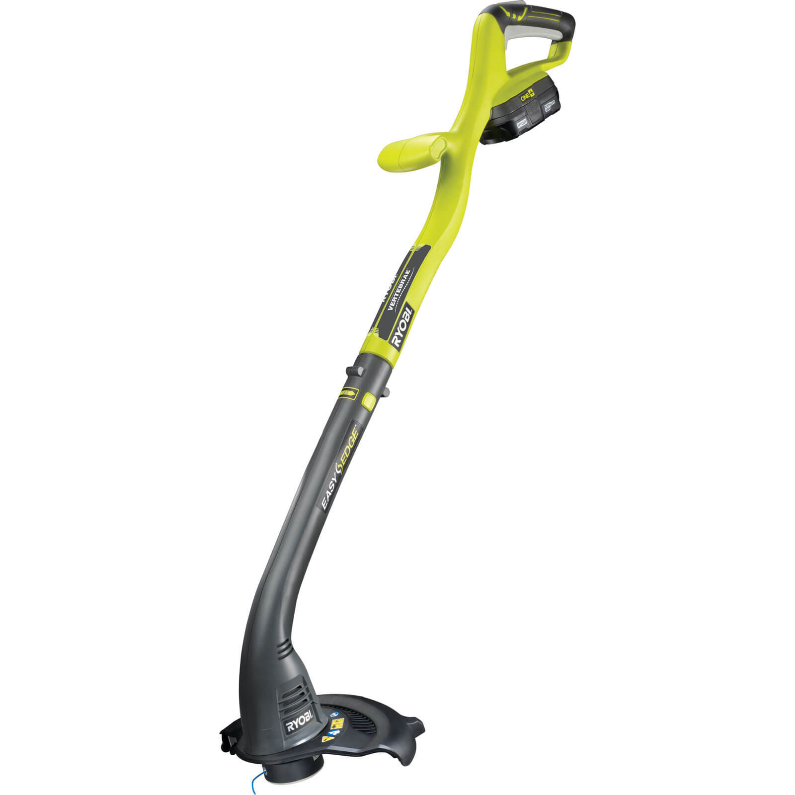 Ryobi RLT1825LI ONE+ 18v Cordless Grass Trimmer 250mm Cut Width + 1 Lithium Ion Battery 1.3Ah