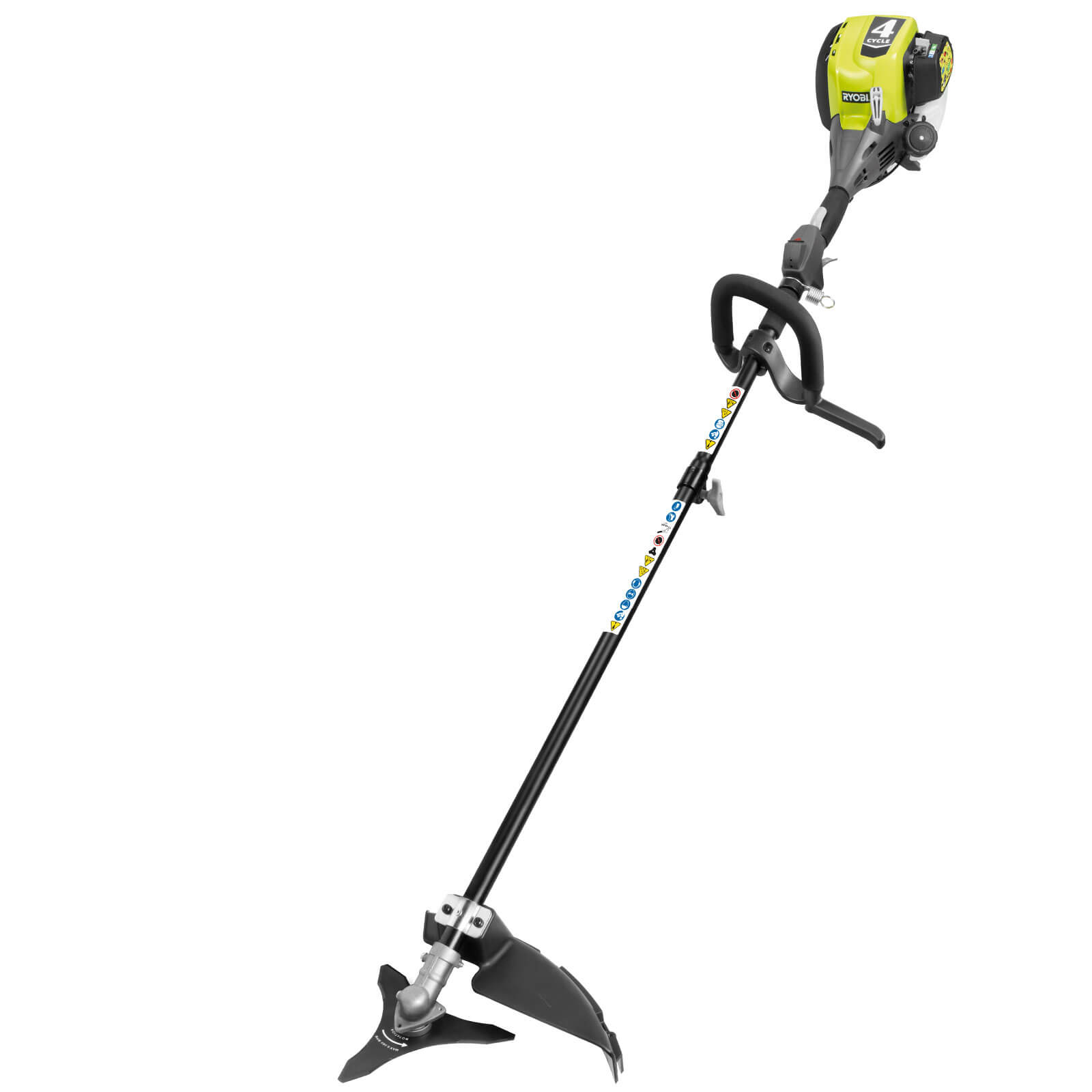 Ryobi RBC30SESB Petrol Brush Cutter 460mm Cut Width with 30cc Start Easy 2 Stroke Engine is Expandit Compatible