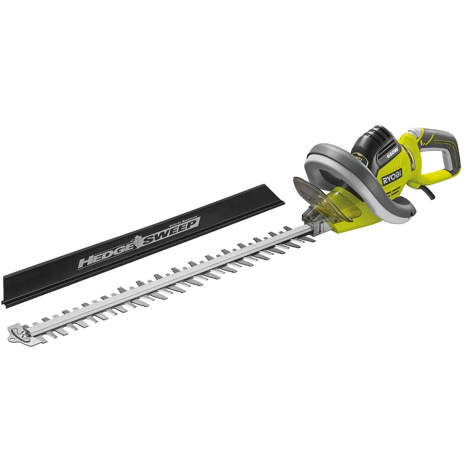 Ryobi RHT6560RL Electric Hedge Trimmer 600mm Blade Length 650w 240v