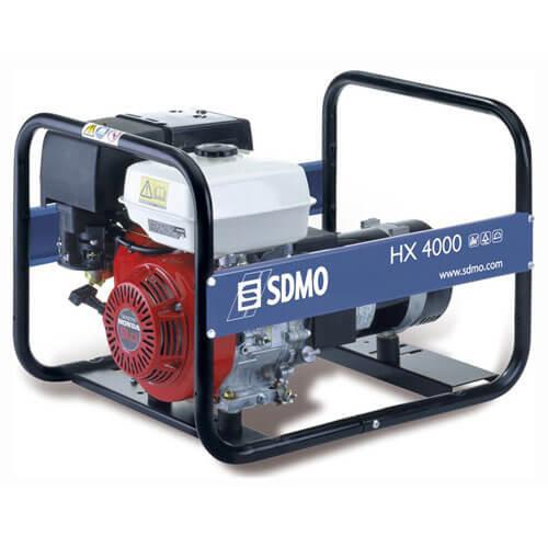 SDMO HX 4000 Portable Petrol Generator 4 Kw (4.5 Kva) with Honda GX270 Engine