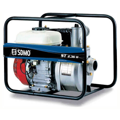 SDMO ST2.36H Petrol Clean Water Surface Water Pump 2