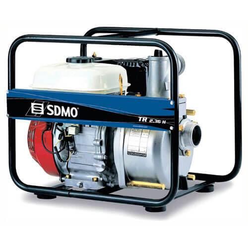 SDMO TR2.36H Petrol Dirty Water Surface Water Pump 2
