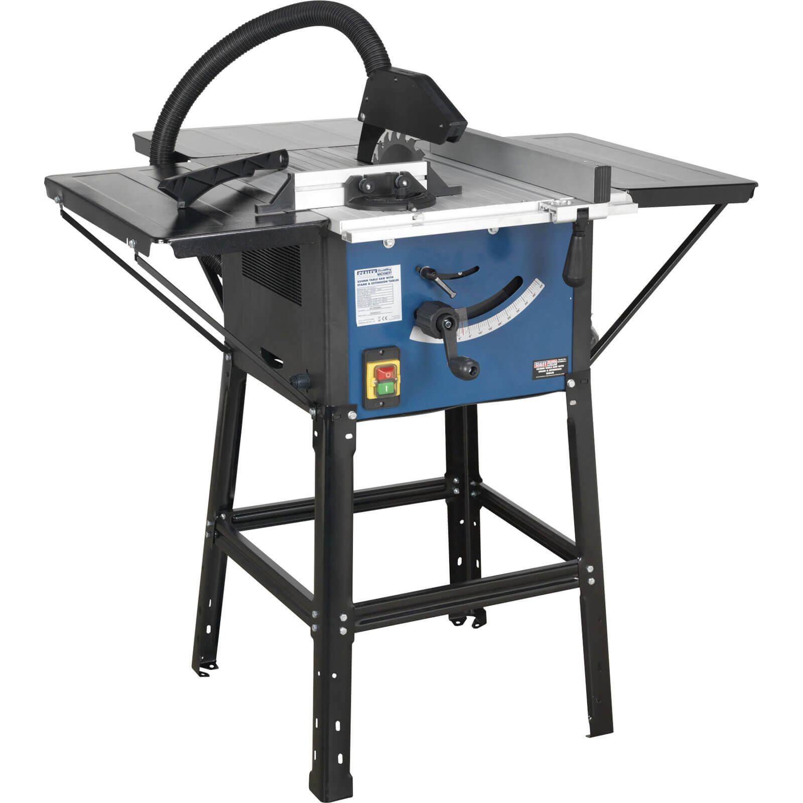 Saws Sealey Table Saw With Stand Extension Wings 10 254mm Blade 1500w 240v Special Offers