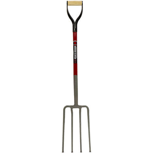 Spear & Jackson Neverbend Fibreglass Contractors Fork with 711mm Handle