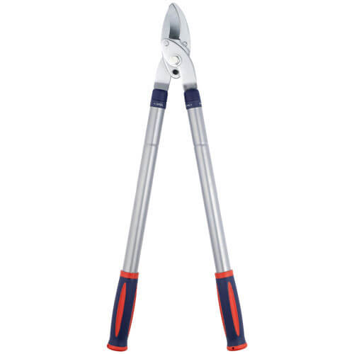 Spear & Jackson Razorsharp Steel Telescopic Bypass Loppers 42mm Max Cut with 610 - 940mm Handles