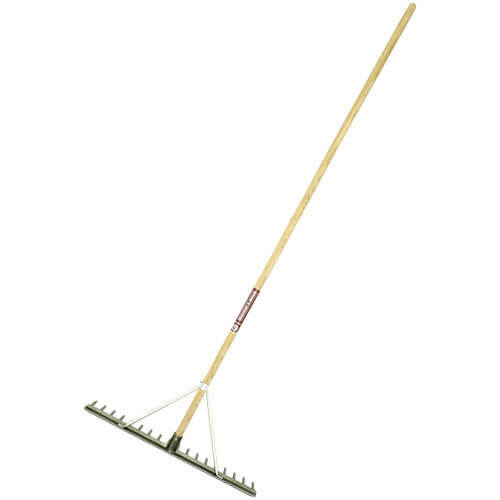 Spear & Jackson Alloy Hay Rake 17 Teeth 1778mm Handle
