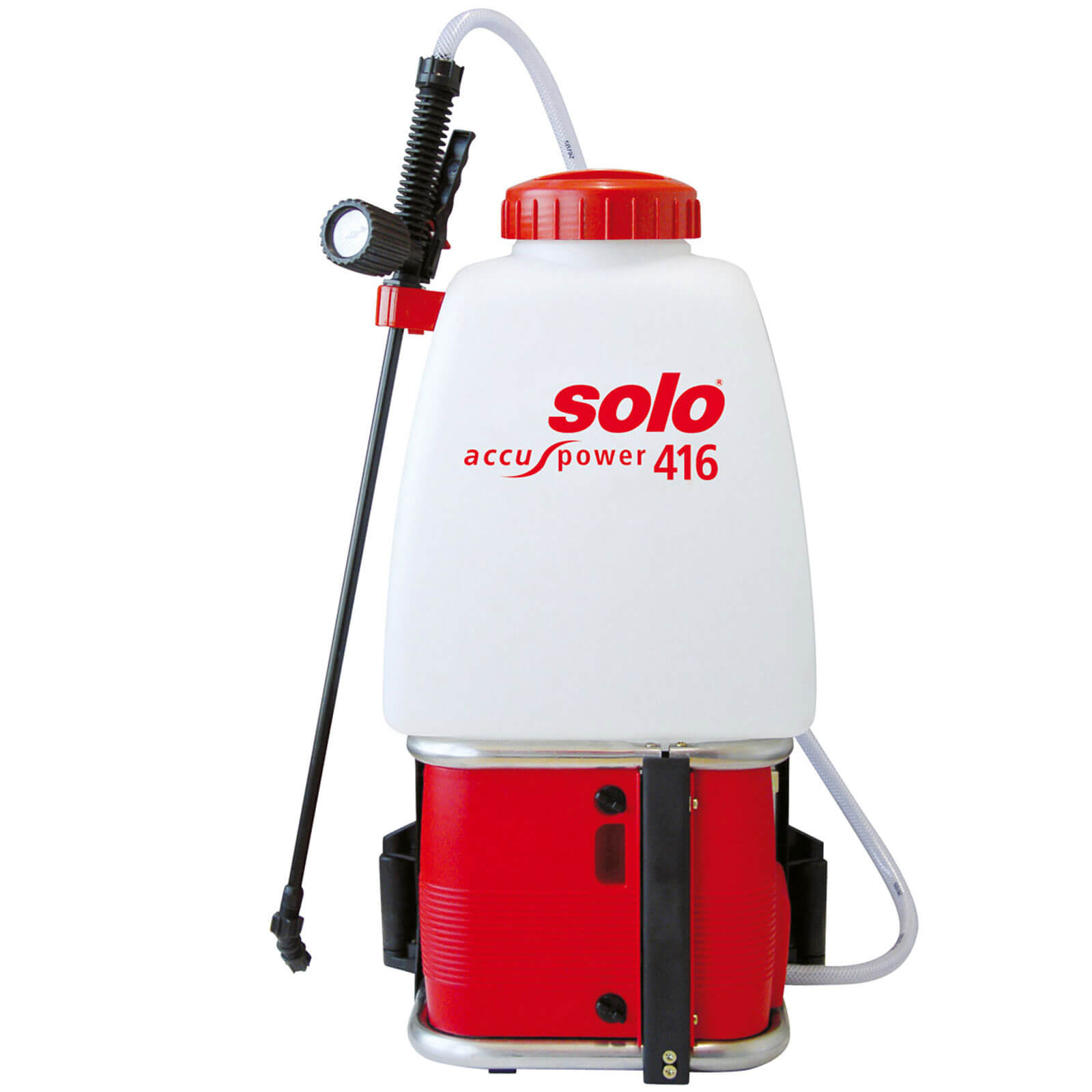 Solo 416 Backpack Rechargeable Chemical & Water Pressure Sprayer 20 Litre with 500mm Spray Lance