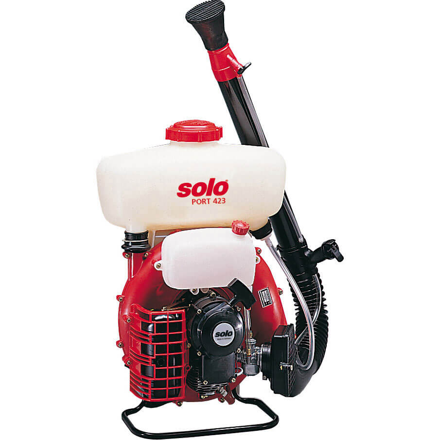 Solo 423 Back Pack Petrol Mist Sprayer 10 Litre with 2 Stroke 72.3cc Engine & Long Reach Nozzle