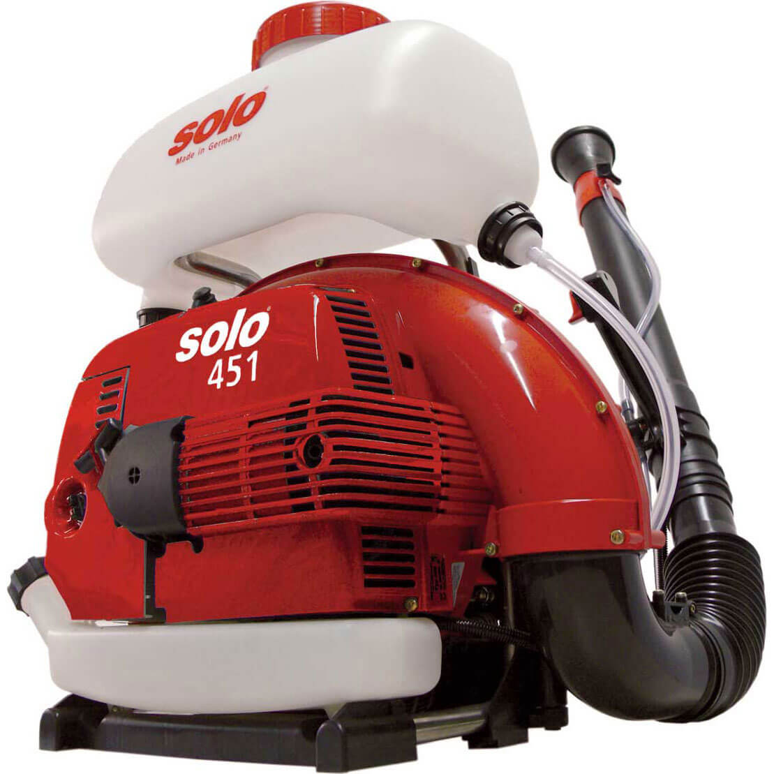 Solo 451 Back Pack Petrol Mist Sprayer 13 Litre with 2 Stroke 66.5cc Engine & Long Reach Nozzle